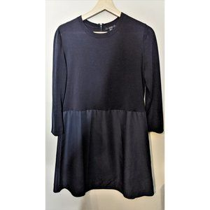 COS | Navy panelled dress